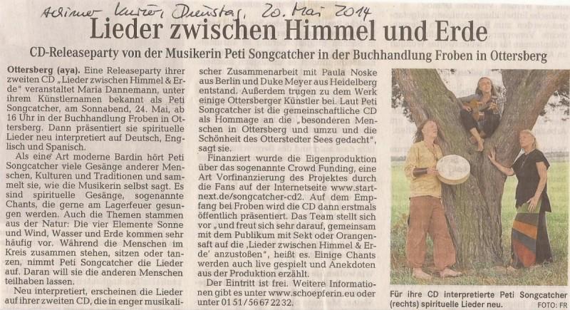 Achimer Kurier, 20. Mai 2014